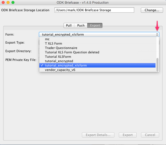 How to: Encrypt your form – Ona Help Center