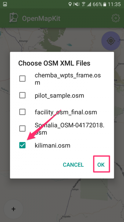 How to use OpenStreetMaps in OpenMapKit – Ona Help Center