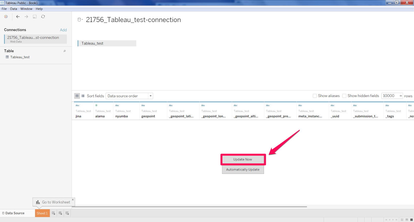 How to: Add a Tableau connector – Ona Help Center
